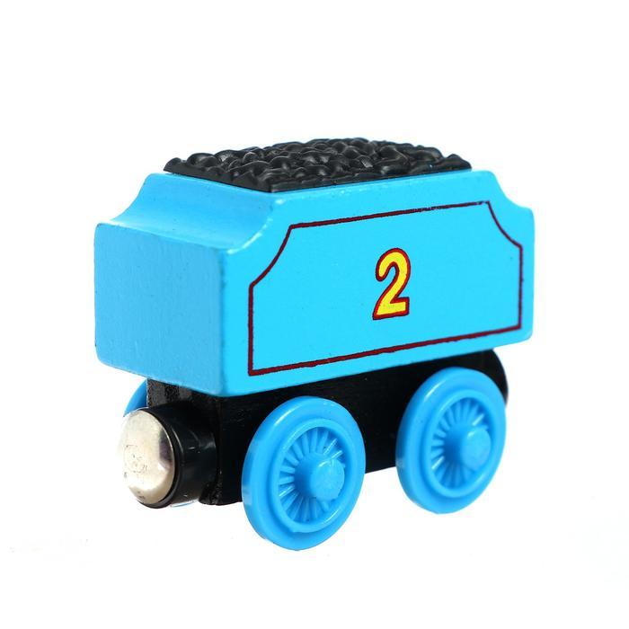 Детский вагончик для железной дороги, 3.4 6.2 4.4 см