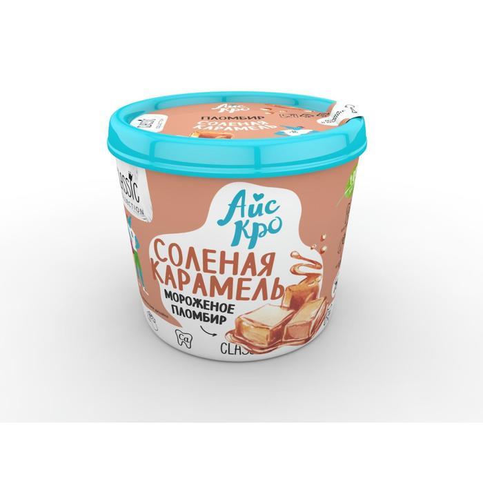 Мороженое «АйсКро» пломбир «Солёная карамель», 75 г