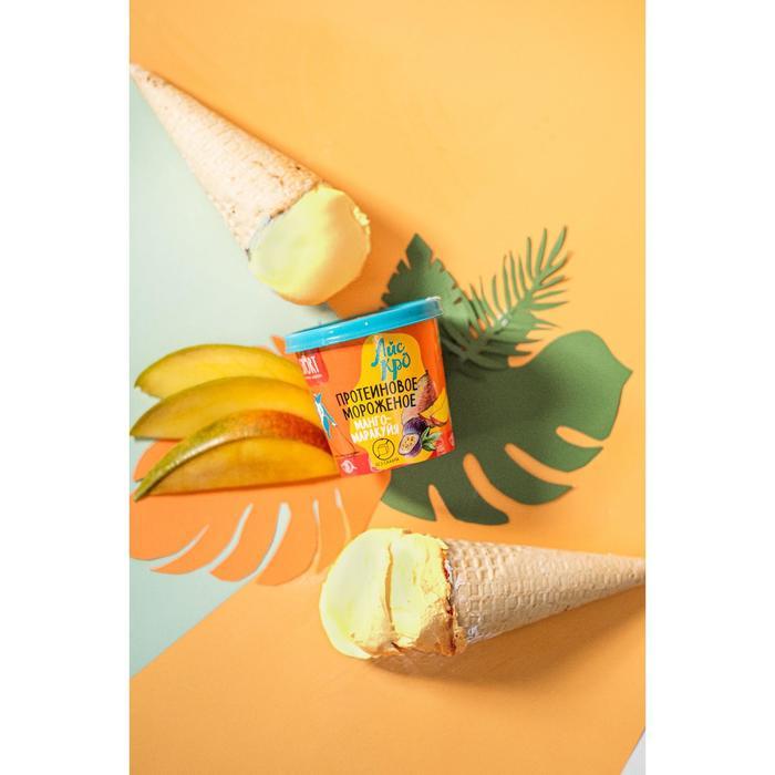 Мороженое сорбет «АйсКро», манго-маракуйя, 75 г