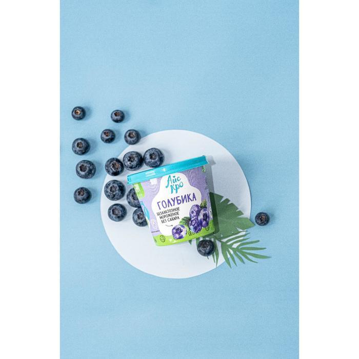 Мороженое «АйсКро» веганское «Голубика», 75 г