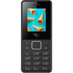 Сотовый телефон ITEL IT2160, 1.77', 2 sim, 1000 мАч, черный Ош