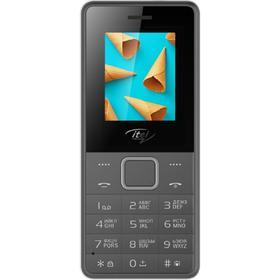 Сотовый телефон ITEL IT2160, 1.77', 2 sim, 1000 мАч, серый Ош