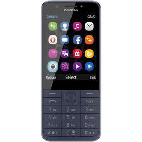 """Сотовый телефон Nokia 230, 2.8"""", 2 sim, 1200 мАч, синий"""