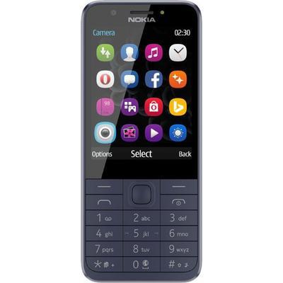 """Сотовый телефон Nokia 230, 2.8"""", 2 sim, 1200 мАч, синий - Фото 1"""