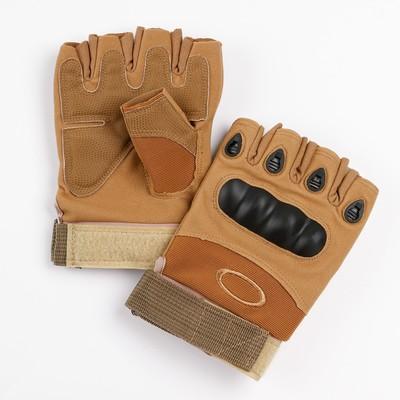 Перчатки тактические хаки Краги  XL - Фото 1