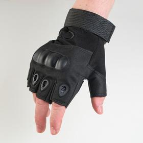 Перчатки тактические черные  Краги  XL Ош