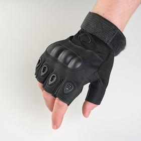 Перчатки тактические черные  Краги  L Ош