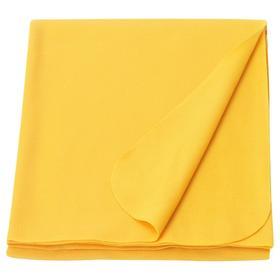 Плед МАНДАРИНРОЗ, 130x160 см, цвет жёлтый