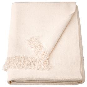 Плед ИНГРУН, 130x170 см, цвет белый