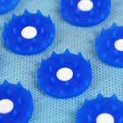 Аппликатор - коврик, 14 × 32 см, 40 модулей, цвет голубой/синий - Фото 7