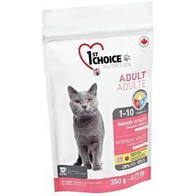 Сухой корм CHOICE Vitality для домашних кошек, цыплёнок, 350 г