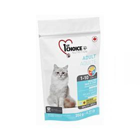 Сухой корм CHOICE для кошек, здоровая кожа и шерсть, лосось, 350 г