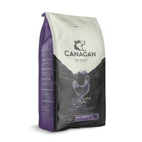 Сухой корм CANAGAN GF Light/Senior для собак пожилых и избыточным весом, цыплёнок, 6 кг