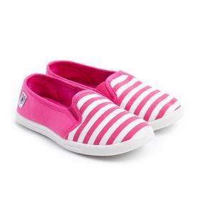 Слипоны детские, цвет розовый, размер 34