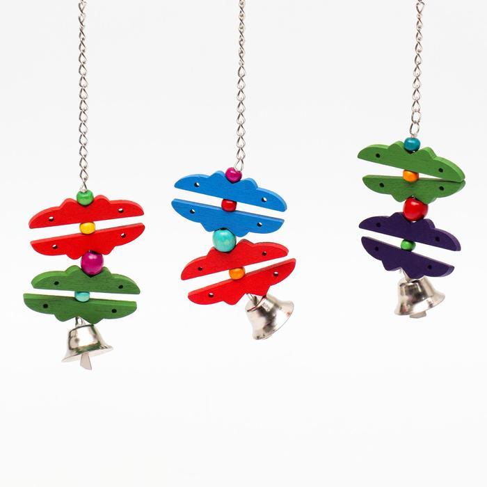 "Игрушка для птиц ""Бабочки"", микс"