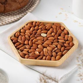 Блюдо Доляна, 19,5×17,5×2 см, берёза