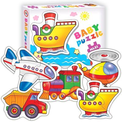 Пазл Baby Puzzle «Транспорт» - Фото 1