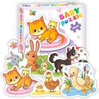 Пазл Baby puzzle «Мамы и малыши-1» - Фото 1