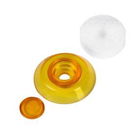 Термошайба из поликарбоната, d = 38 мм, УФ-защита, оранжевая, набор 25 шт. Ош