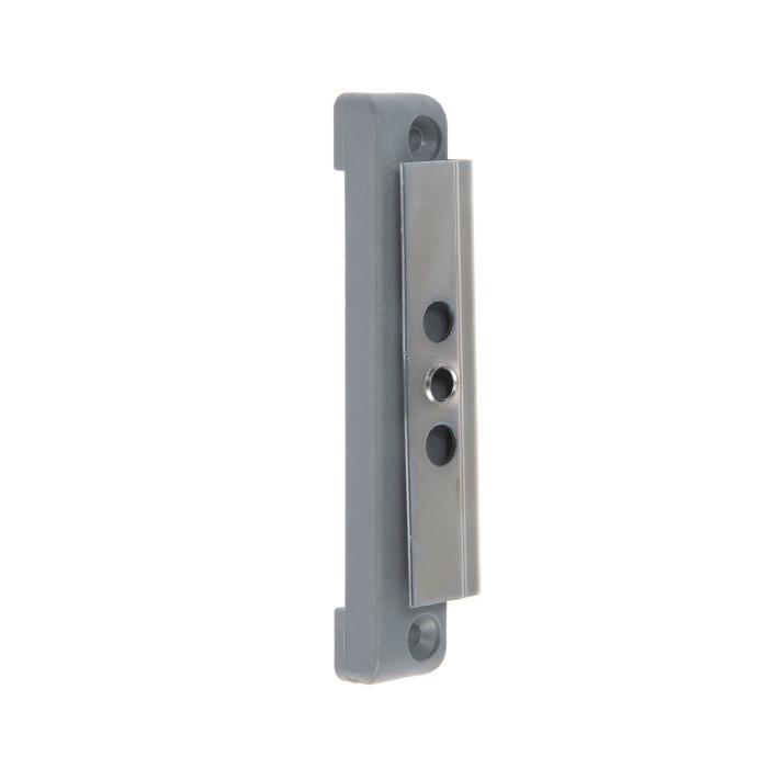 Балконная защелка магнит. BL-09/M Ral 7046 /50, серая