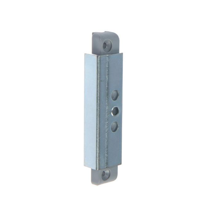 Балконная защелка магнит. BL-13/M Ral 7046 /50, серая