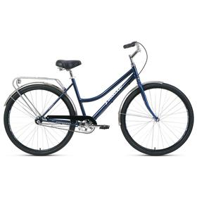 "Велосипед 28"" Forward Talica 3.0, 2021, цвет темно-синий/серебристый, размер 19"""