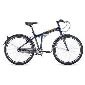 Велосипед 26' Forward Tracer 3.0, цвет синий/оранжевый, размер 19' Ош
