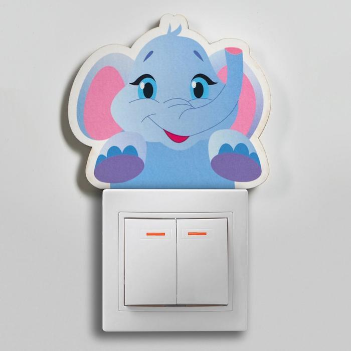 """Декор настенный """"Слонёнок"""", 8.5х9.8 см"""