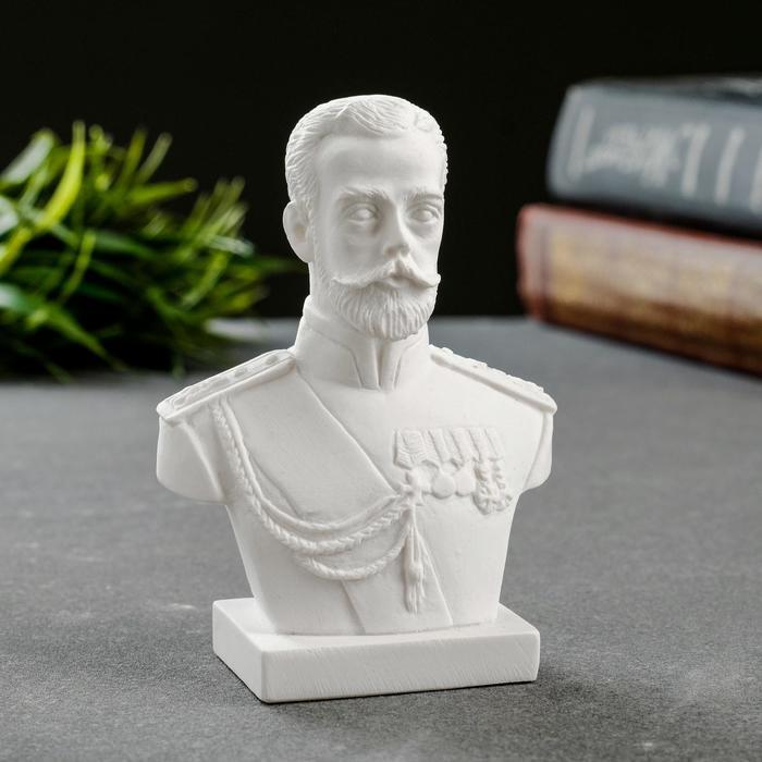 Бюст Николая II, 9,5см