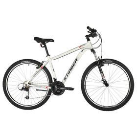 Велосипед 27,5' Stinger Element Std, цвет белый, размер 16' Ош