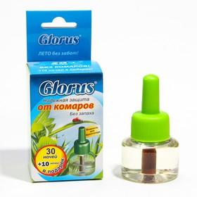 """Жидкость от комаров """"Глорус"""", без запаха, 40 ночей, 1 шт"""