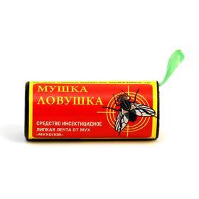 Лента липкая от мух 'Мушка ловушка', с медом, 1 шт Ош