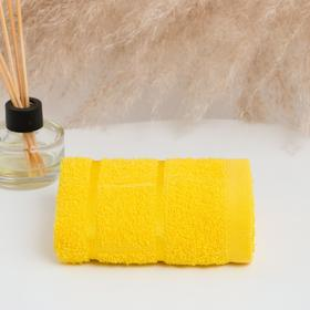 Полотенце махровое ЮНОНА 03-010 30х50 см, желтый, хлопок 100%,  360гр./м2