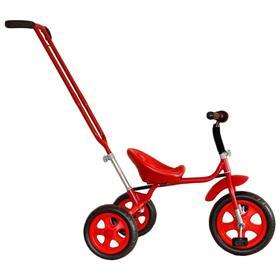 """Велосипед трехколесный Лучик Малют 3, колеса EVA  10""""/8"""", цвет красный"""