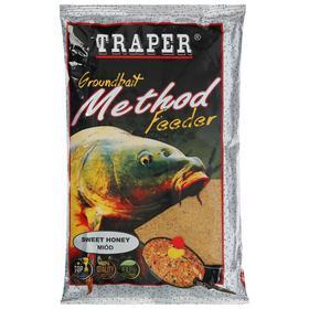 Прикормка Traper «Метод фидер», мёд, 750 г