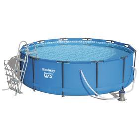 Бассейн каркасный Steel Pro Max 366 х 100 см, с фильтр-насосом, лестницей 56418