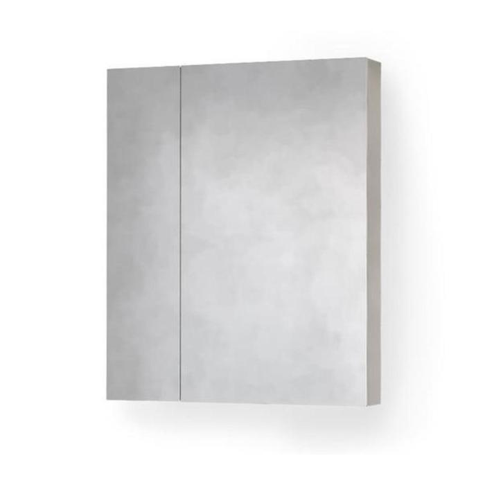 """Зеркало-шкаф """"RAVAL Frame 75"""" дуб сонома с подсветкой, розеткой 18х76х83см"""