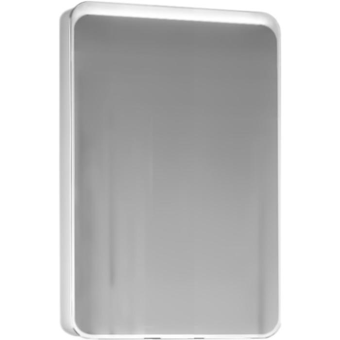 "Зеркало-шкаф ""RAVAL Quadro-Fest 75"" белый 15х74х80см"