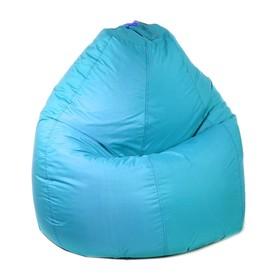 Кресло-мешок универсальное, d90/h120, цвет бирюза
