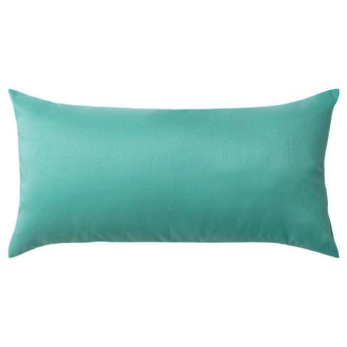 Декоративная подушка КРОНЭРТ, 30х58 см, цвет бирюзовый