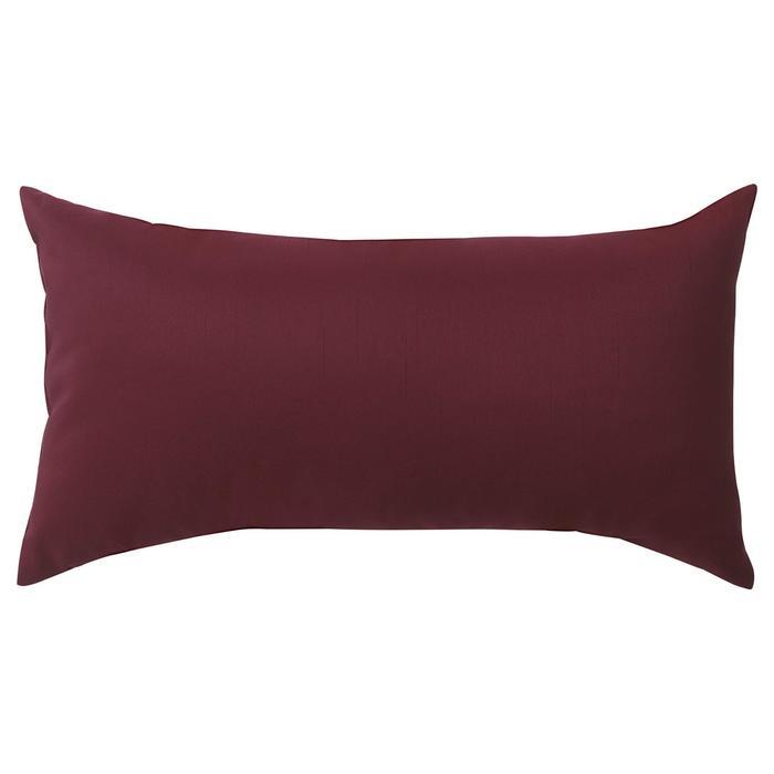 Декоративная подушка КРОНЭРТ, 30х58 см, цвет тёмно-красный