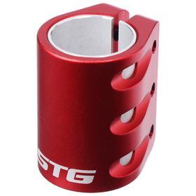 Зажим с проставкой для трюкового самоката на 3 болта для компрессии HIC, цвет красный Ош