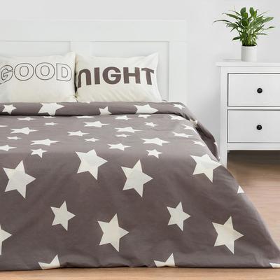 Комплект: пододеяльник и 2 наволочки  Good night 143*215 см, 50*70 см - 2 шт, 100% хлопок - Фото 1