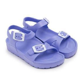 Сандалии детские, цвет фиолетовый, размер 24