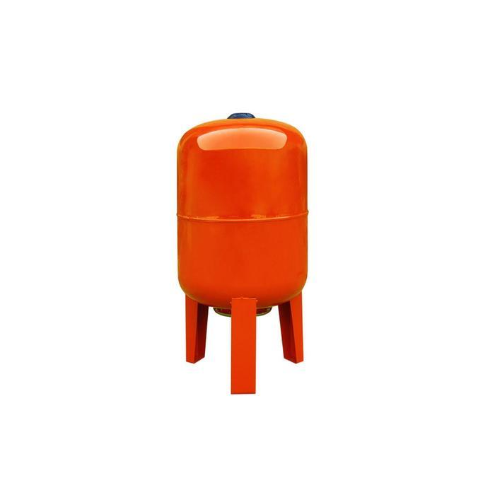 """Гидроаккумулятор для системы """"Вихрь"""" ГА-80В 68/6/4, 80 л, 10 бар, 1"""", вертикальный"""