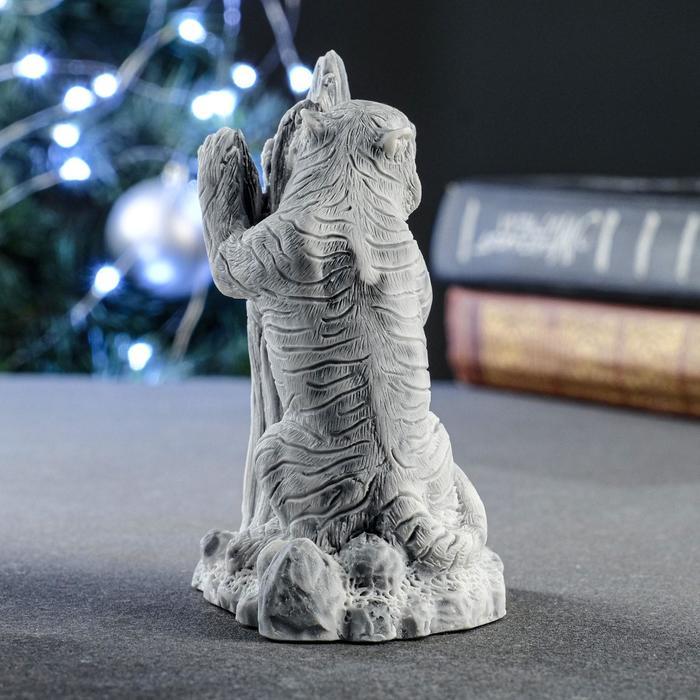 """Сувенир """"Амурский тигр у дерева"""" 11 см"""