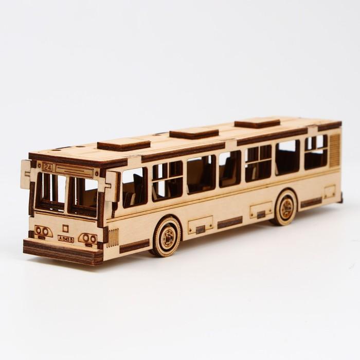 Cборная модель «Автобус» 75 детали