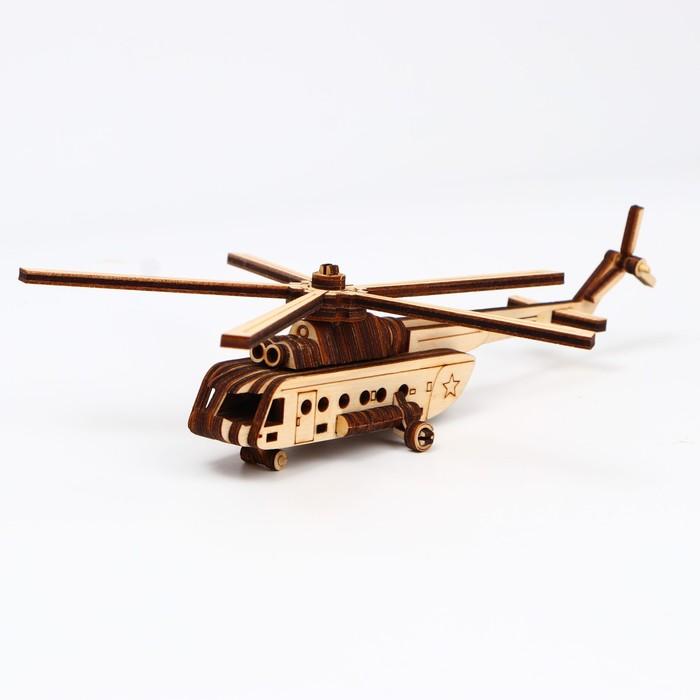 Cборная модель «Вертолёт» 50 деталей