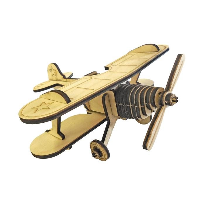 Cборная модель «Самолёт» 29 деталей