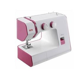 Швейная машина ALFA Next 30, 60 Вт, 18 операций, полуавтомат, белый/розовый